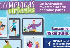 Lanzan las primeras Olimpiadas Virtuales juveniles