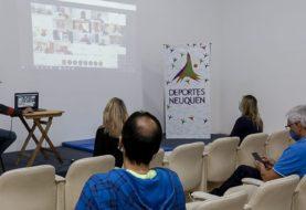 Positiva reunión virtual con directores de Deportes de gobiernos locales