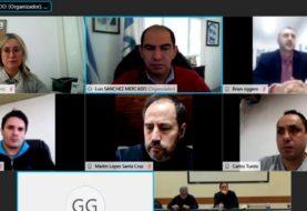 Reunión virtual de los dirigentes del Epade