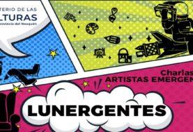 El ciclo Lunergentes se presentará con tres artistas el lunes