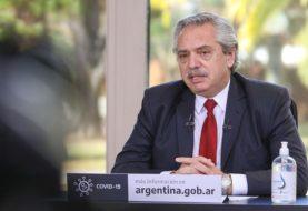 """Alberto Fernández: """"No nos van a doblegar los que gritan"""""""