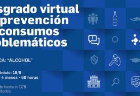 Convocatoria para posgrado virtual en prevención de consumos problemáticos