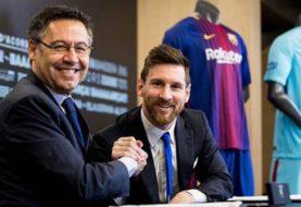 """Confirmó su continuidad -  Lionel Messi: """"Jamás iría a juicio contra el club de mi vida y por eso me voy a quedar en el Barcelona"""""""