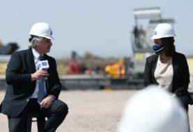 La Gobernadora Carreras acompañó al Presidente en el lanzamiento del Plan Gas desde Vaca Muerta