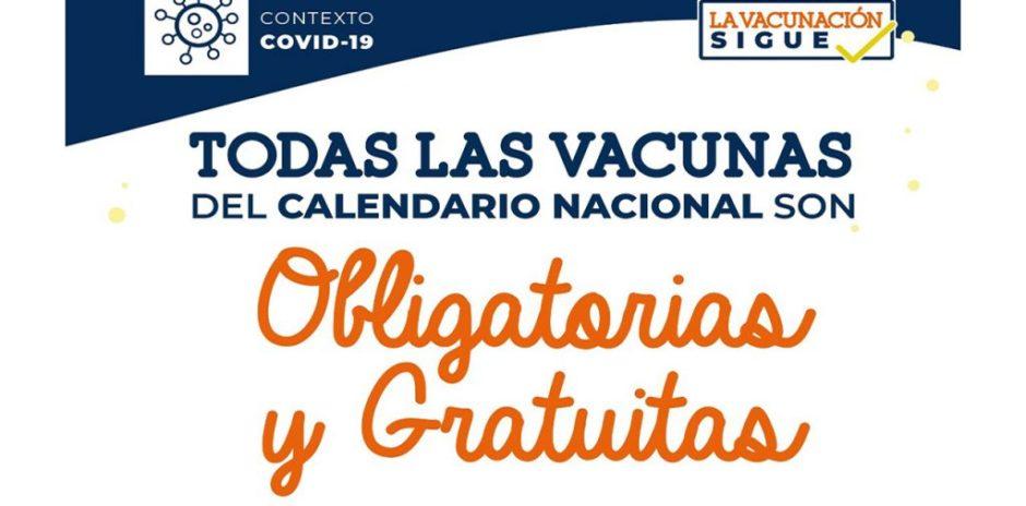 Más oportunidades para completar las vacunas del calendario regular