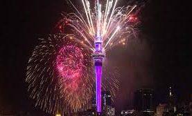 2021: mirá el video de los festejos en nueva Nueva Zelanda
