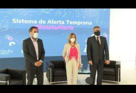 """Presentaron el Sistema de Alerta Meteorológico, que aportará información """"más precisa y anticipada"""""""