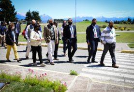 Bariloche: Vélez y Lammens recorrieron la ciudad y abordaron temas de agenda conjunta