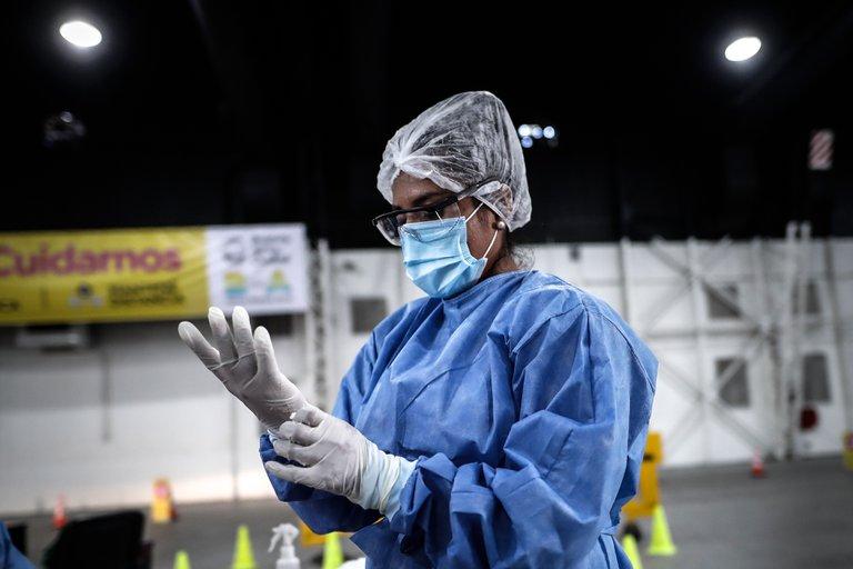 Río Negro registró 345 nuevos contagiados y tres muertos de coronavirus