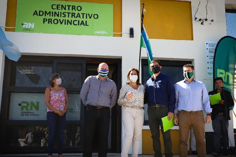 Edgardo Mardones es el nuevo director del Centro Administrativo Provincial en Jacobacci