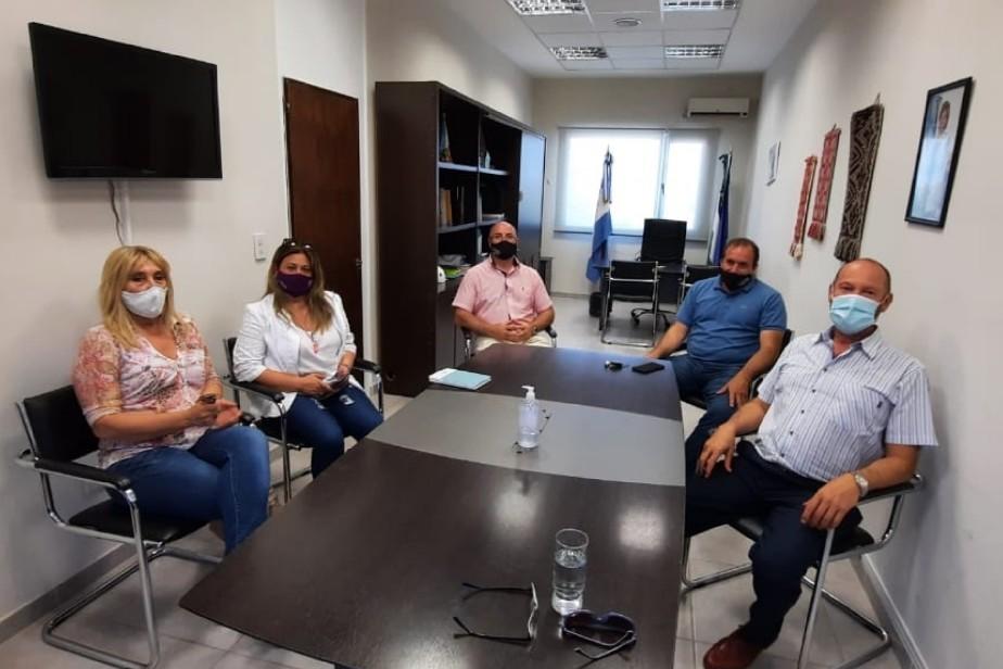 Río Negro trabaja en la articulación de acciones para el desarrollo turístico de Luis Beltrán