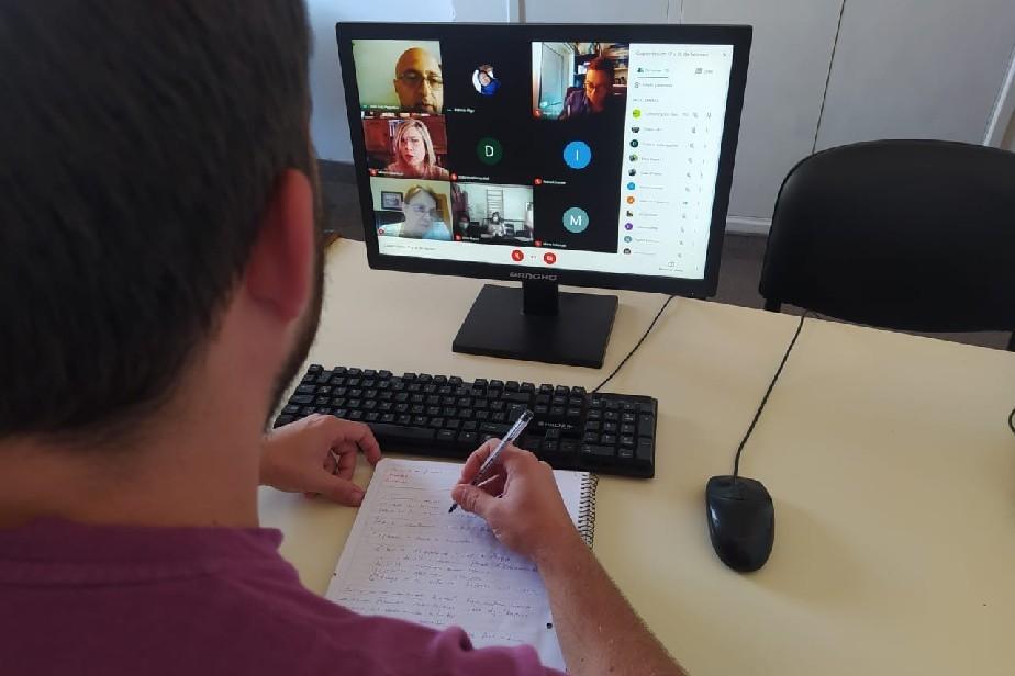Profesionales a cargo de las evaluaciones de discapacidades se capacitaron de manera virtual