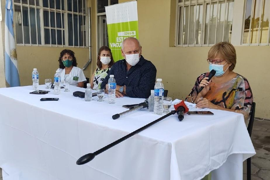Covid-19: Río Negro inicia la vacunación a adultos mayores