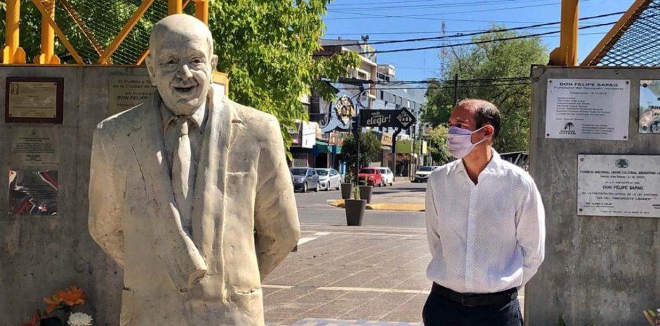 Gutiérrez participó del homenaje a Don Felipe Sapag