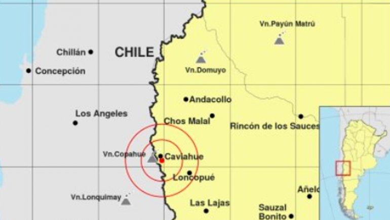 Un sismo de magnitud 2,9 se sintió en Copahue-Caviahue esta madrugada