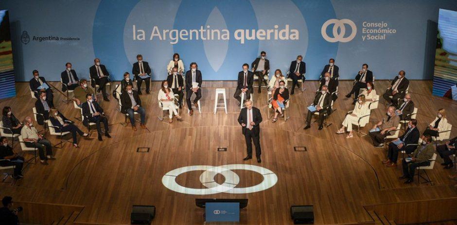 Gutiérrez participó del encuentro por el Consejo Económico y Social