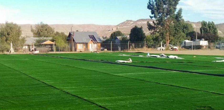 El lunes se inaugura la cancha de hockey de Junín de los Andes