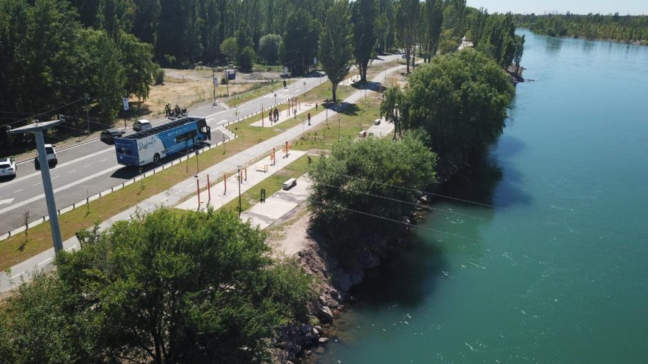 Neuquén se consolidad como ciudad turística con el desarrollo de infraestructura y el paseo costero