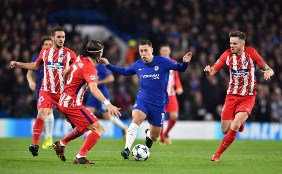 Chelsea venció al Atlético de Madrid por los octavos de final de la Champions League