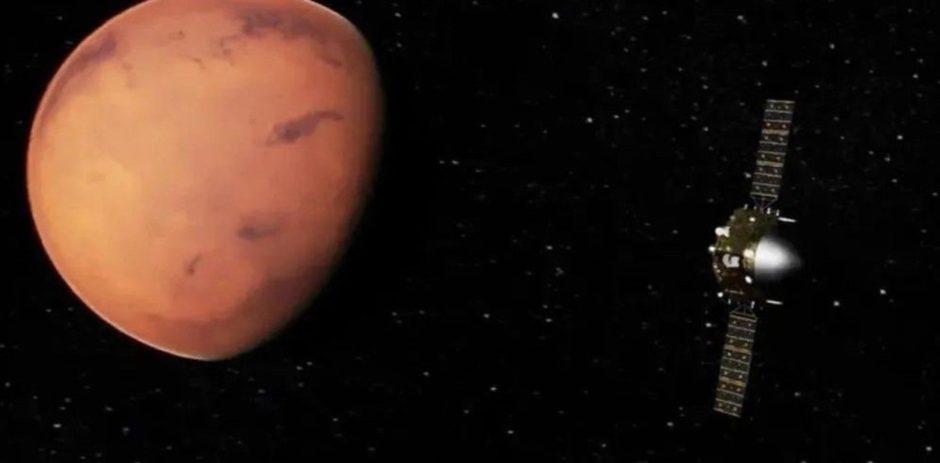 La conquista del espacio.   Logro de China: su sonda Tianwen-1 entró en órbita alrededor de Marte
