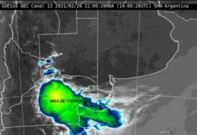 Pronóstico del clima: inestable, formación de tormentas y probables chaparrones con temperaturas de hasta 40 grados