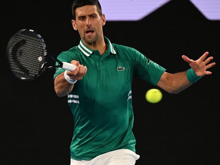 Novak Djokovic derrotó al estadounidense Taylor Fritz por 7-6 (1), 6-4, 3-6, 4-6 y 6-2