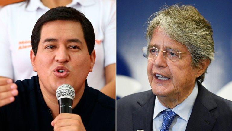 Cerraron los colegios electorales en Ecuador: sondeos a boca de urna vaticinan un balotaje entre Andrés Arauz y Guillermo Lasso
