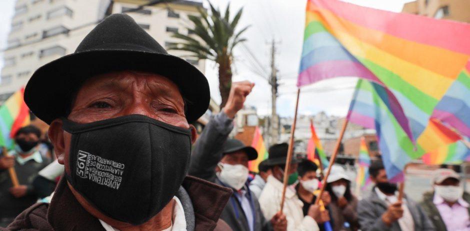 Incertidumbre en Ecuador por la paridad entre dos candidatos: ahora el banquero Lasso supera al indígena Pérez