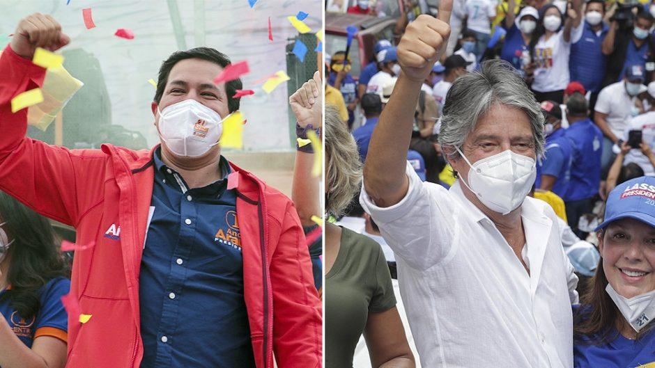 Ecuador comenzó a votar en unas polarizadas elecciones marcadas por la crisis y la pandemia