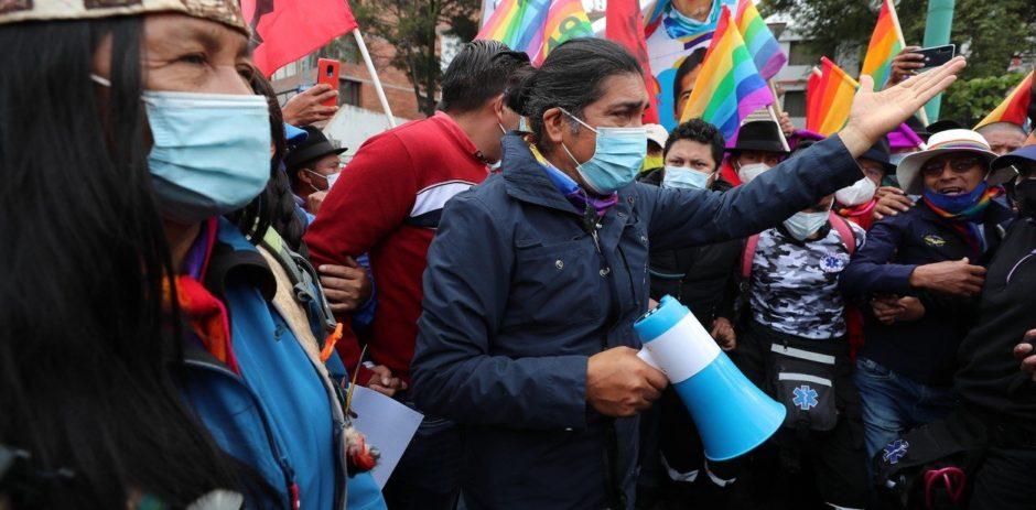 Yaku Pérez reitera que hubo fraude en las elecciones de Ecuador y pide una auditoría