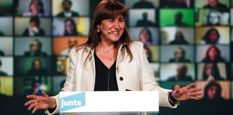 """Este domingo.  Elecciones en Cataluña: """"Necesitamos un gobierno independentista y fuerte"""", afirma Laura Borràs"""