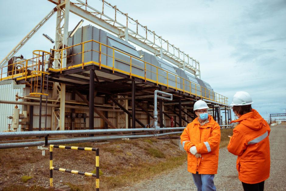 Embajador de Alemania recorrió las instalaciones gasíferas de Tierra del Fuego