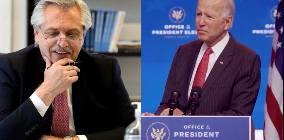 El Gobierno contrató a una agencia de lobby que gestionó la llamada de Alberto Fernández a Joe Biden