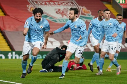 Goleada del Manchester City 4-1 al Liverpool
