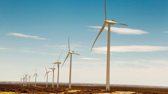 Comenzó a operar un parque eólico en Chubut de la mano de Genneia y Pae