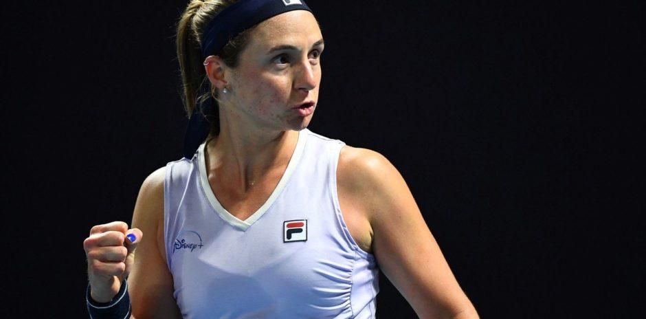 Abierto de Australia: Nadia Podoroska quedó eliminada tras una contundente derrota