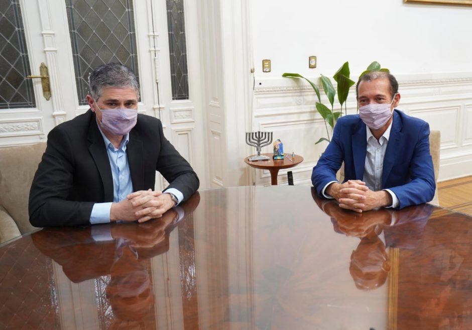 El Gobernador Gutiérrez se reunió con la cúpula de YPF en busca de la reactivación de Vaca Muerta
