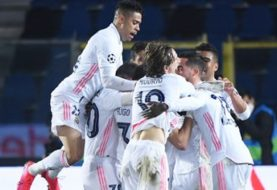 CHAMPIONS LEAGUE - Real Madrid, sobre el final, venció al Atalanta por los octavos de final
