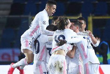 CHAMPIONS LEAGUE - Real Madrid, sobre el final, venció al Atalanta por los octavos de final
