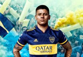 Boca presentó a Marcos Rojo, primer refuerzo para esta temporada