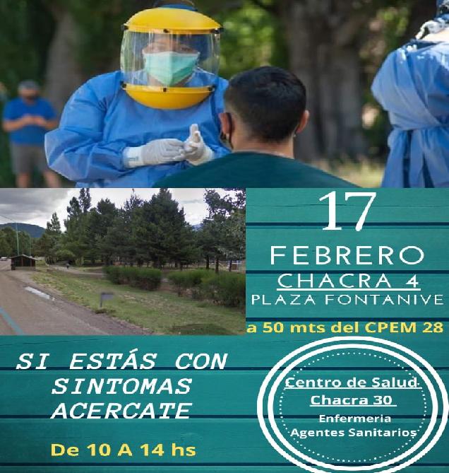 San Martín: Operativo DetectAR en Chacra IV