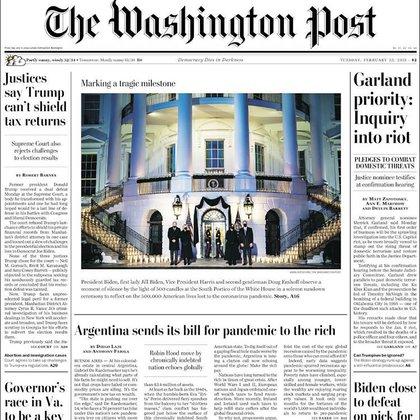El impuesto a la riqueza, en la tapa del Washington Post: fuerte crítica a la ley y a cómo se implementó en la Argentina