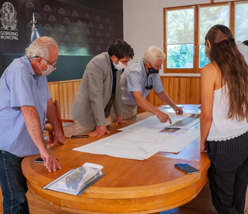 San Martín: Junto a Vialidad Nacional se trabaja sobre la Travesía Urbana de la Ruta 40, con la rotonda de Bello como prioridad