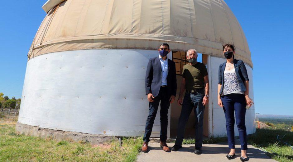 Las Ovejas: Estudian instalar un observatorio estelar en La Puntilla