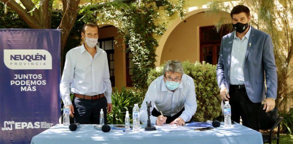 Cuatro ofertas para la obra del Sistema de Tratamiento de Líquidos Cloacales en Loncopué