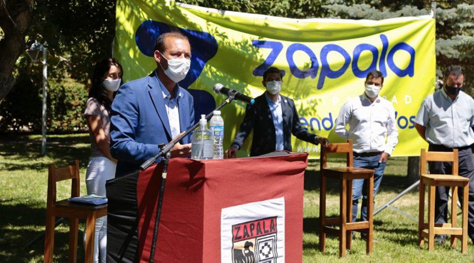 Gutiérrez encabezó el lanzamiento del Plan + Futuro de Zapala