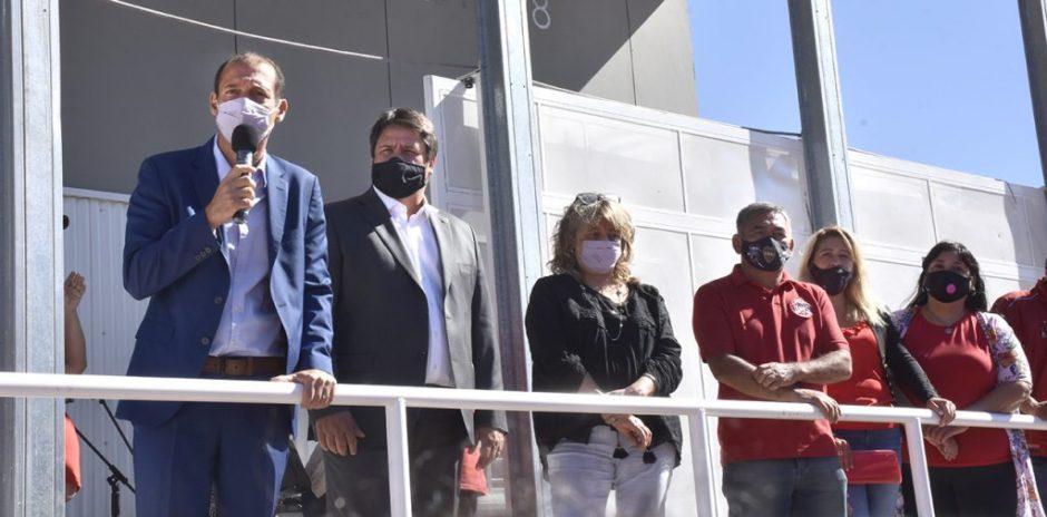 Gutiérrez inauguró el Jardín de Infantes N° 78 del barrio Z1