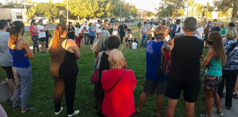 Reunión por Seguridad en el barrio Belgrano