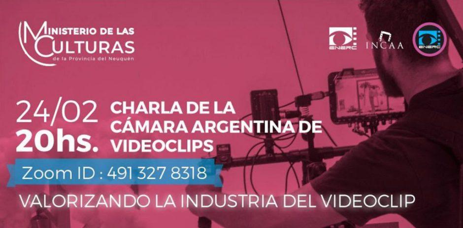 Charla virtual sobre la industria del videoclip
