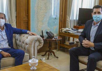 El gobernador se reunió en Buenos Aires con el ministro del Interior
